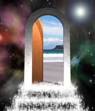 Welcome the door